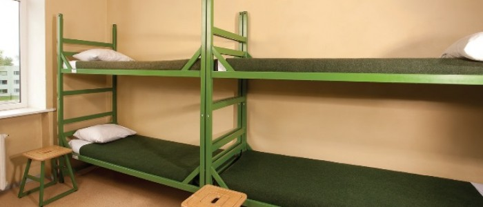 Army metal bunk beds