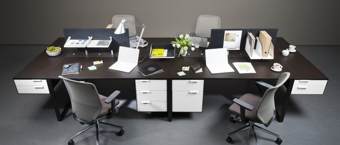 Manufacture of office desks