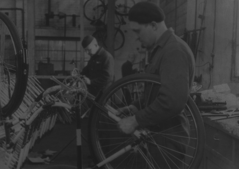 Bicycle producing