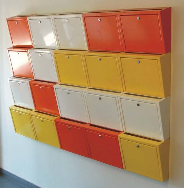 Combined sectional mailboxes