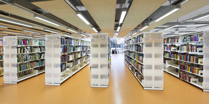 Library shelving_