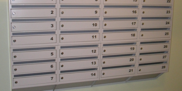 Sectional mailboxes